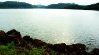 Lago da UHE Itaúba em Meio à Vegetação