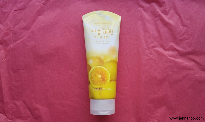 TonyMoly Clean Dew Lemon Foam Cleanser