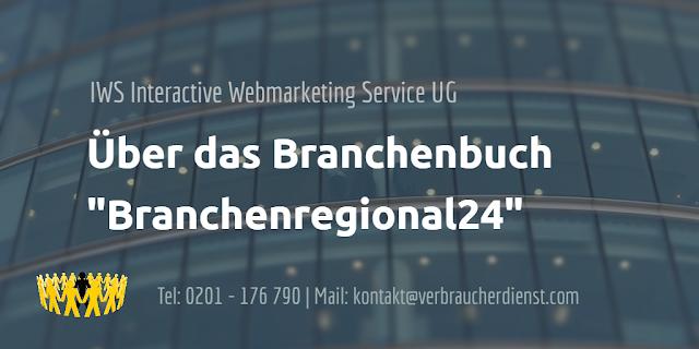 Beitragsbild: IWS Interactive Webmarketing Service UG – branchenregional24