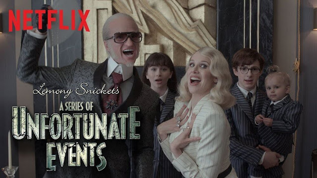 'Lemony Snicket: Una serie de catastróficas desdichas', una serie con una estética y una narración ú