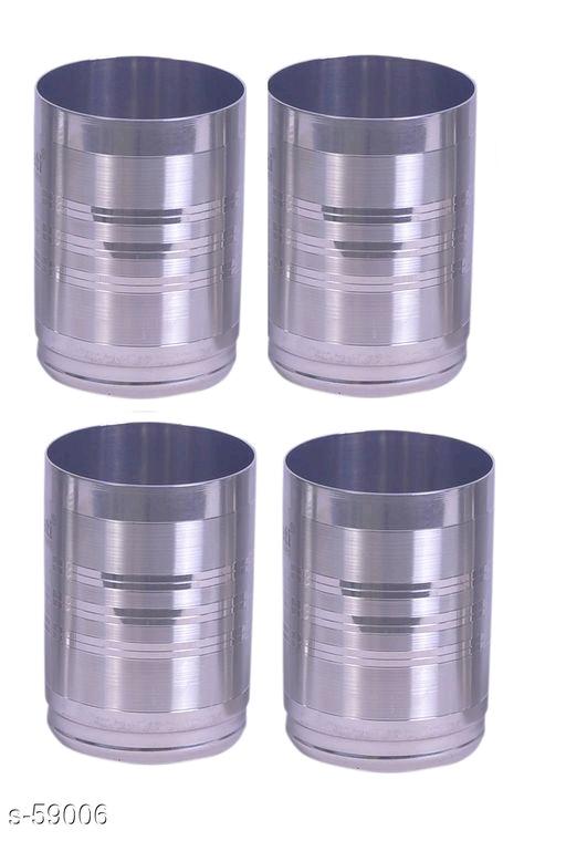 Amazing Round Shape Drinking Glass (Set Of 4)