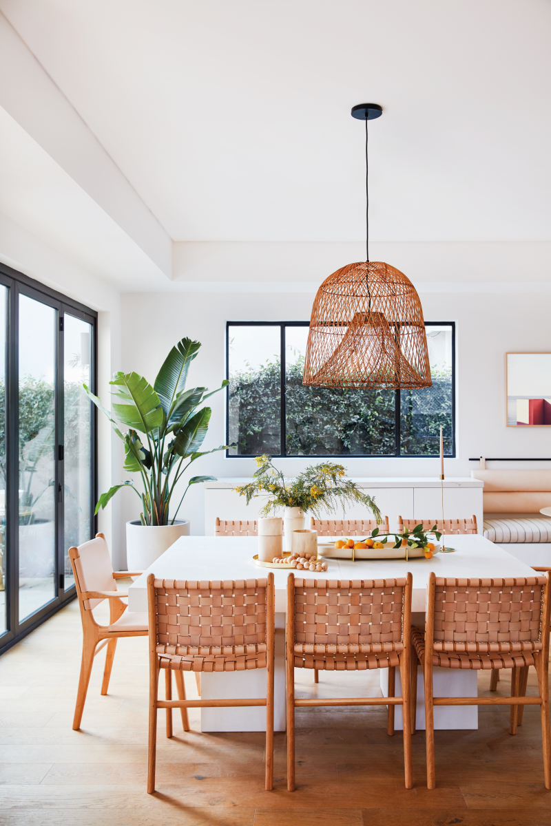 ilaria fatone_ garance doré home - dining room in warm tones