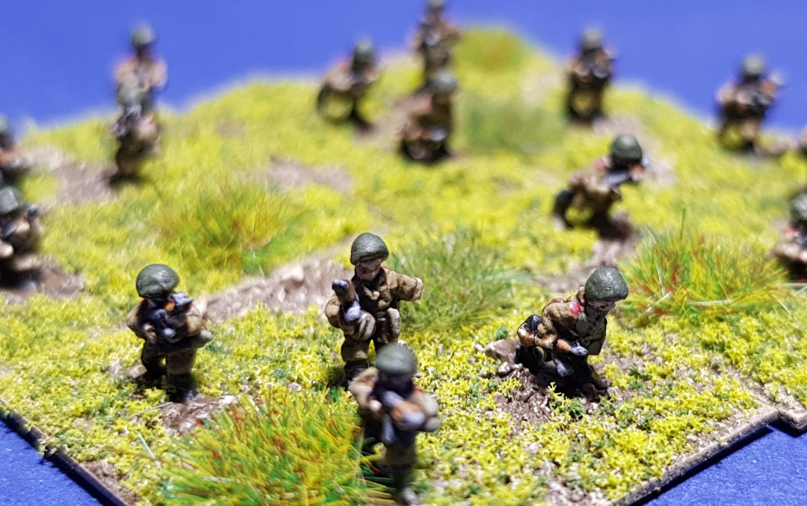 1st Corps 25mm Sci Fi Support Platoon Colonial Troopers Starship Marines Platoon