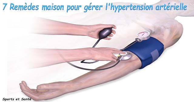 7 Remèdes maison pour gérer l'hypertension artérielle