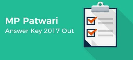 MP Patwari 2017 Answer Key Out