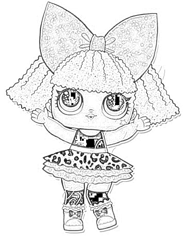 Coloring Pages L O L Surprise Coloring Pages Free And Downloadable