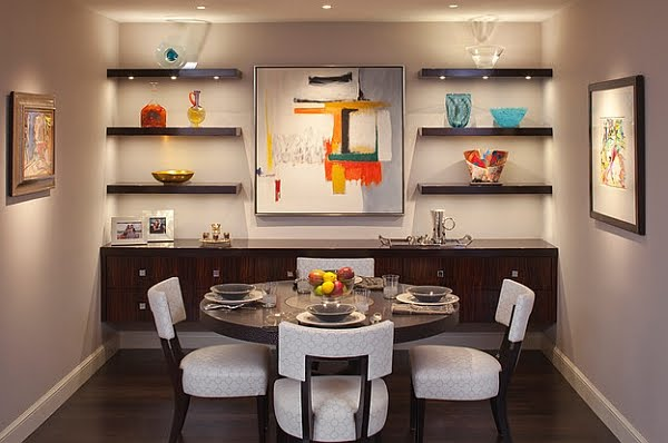 Right Ways to Decorate Small Dining Room