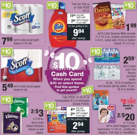cvs cash card deals