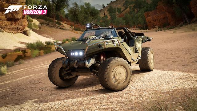 Forza Horizon 3 tendrá el coche de Halo, Warthog, y requisitos para ordenador