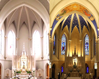 Before and After: Three Churches