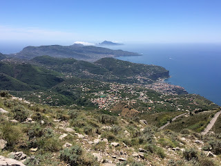 Amalfi e Sorrento Coast from Mount Faito