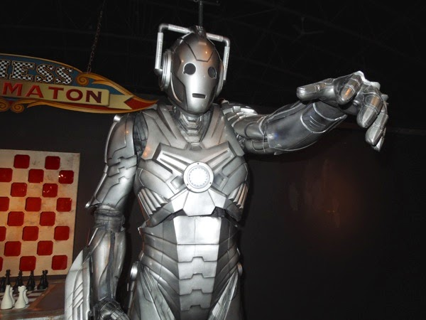 Doctor Who Nightmare in Silver Cyberman costume