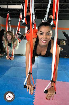 acro aero yoga