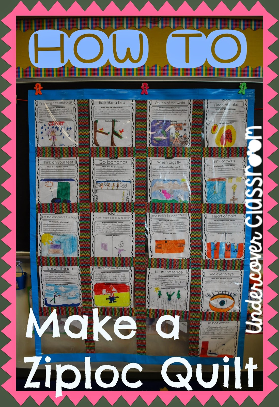 Classroom Quilt Ideas ~ Undercover classroom what works secrets and
