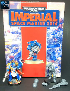 Imperial Space Marine 2016 and Ultramarines Force Commander