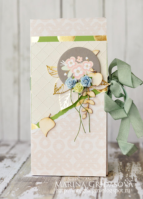 chocolate box | I-Kropka DT @aonitt #box #chocolatebox #by_marina_gridasova #chipboard #i-kropka #dcwv