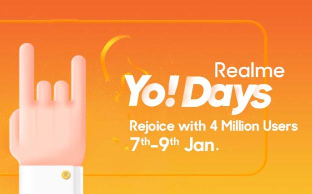 अमेजॉन Realme Yo! Days पर Realme  के स्मार्टफोन पर मिल रही है अच्छी डील