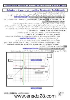 المناقشة البيانية لمستقيم بيان دالة math-3as-fonctions7.