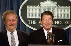 Ronald Reagan nominating Robert Bork for a Supreme Court vacancy, 1987