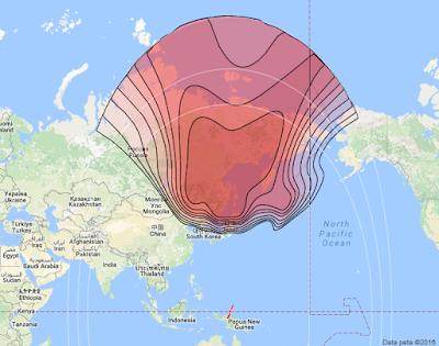 Satelit Express AT 2 140.0°E KUBand