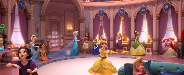Disney Princesses Coloring Pages Ralph Breaks the Internet coloring.filminspector.com