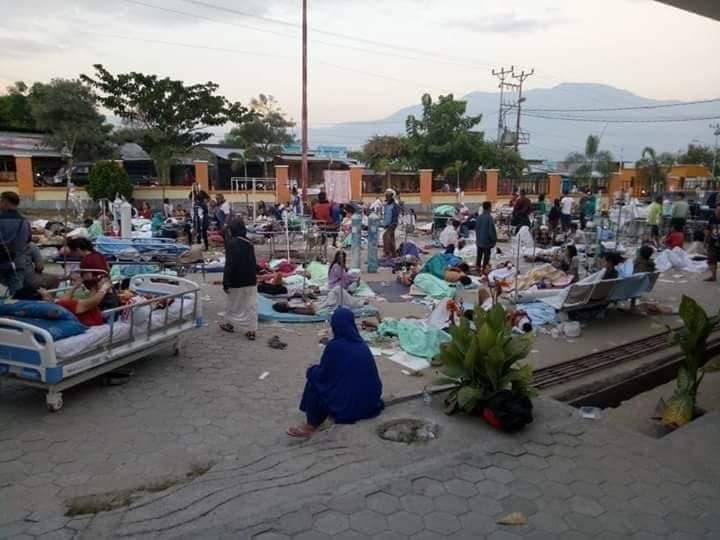 Bersama LPD Peduli Korban Gempa dan Stunami Palu Donggala