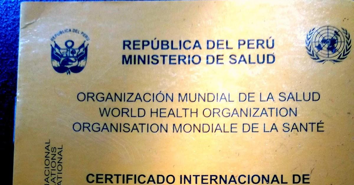 Centro de vacunacion internacional peru