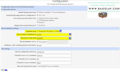 Install  Bacula  Server   di   Centos 7