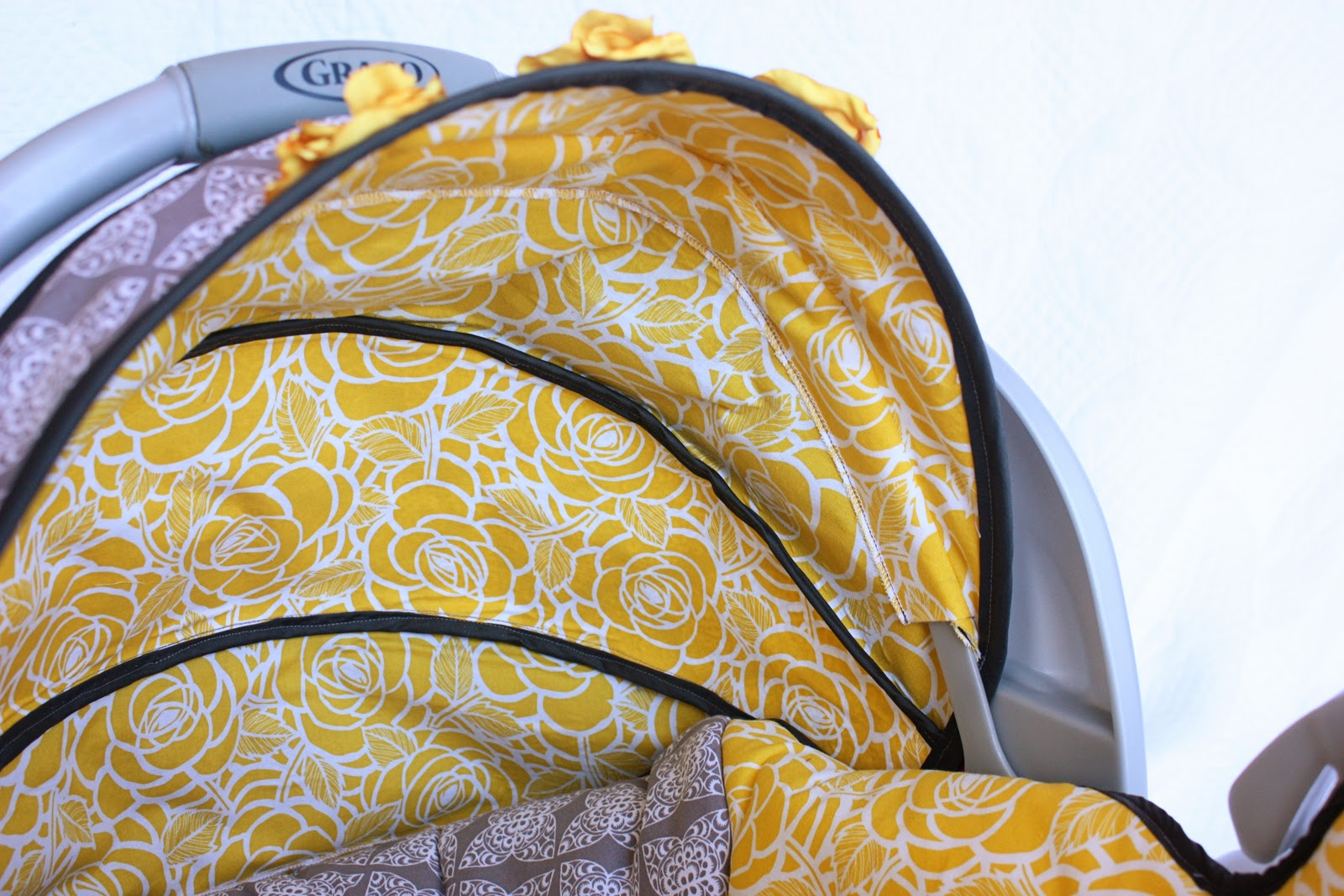 How To Make A Replacement Liner Cover For An Infant Car Seat