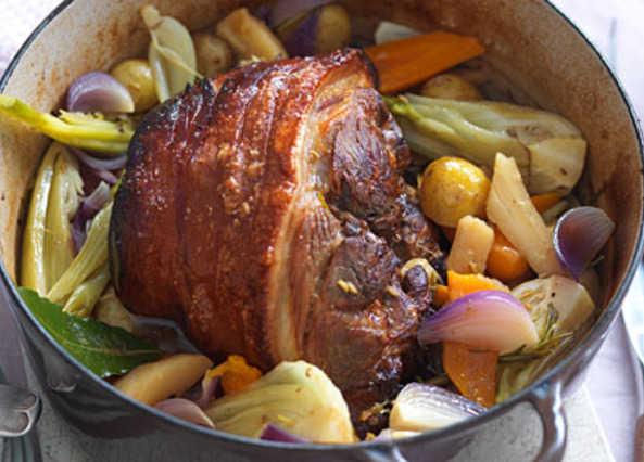 The Low Carb Diabetic Pork Shoulder Pot Roast Delicious