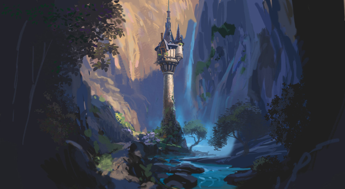 Tangled tower painting wallpapers for disney tangled wallpaper - Tangled tower wallpaper ...
