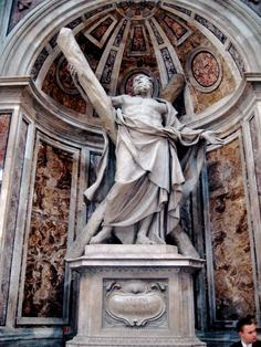 Statue of St.Andrew, The Vatican City.