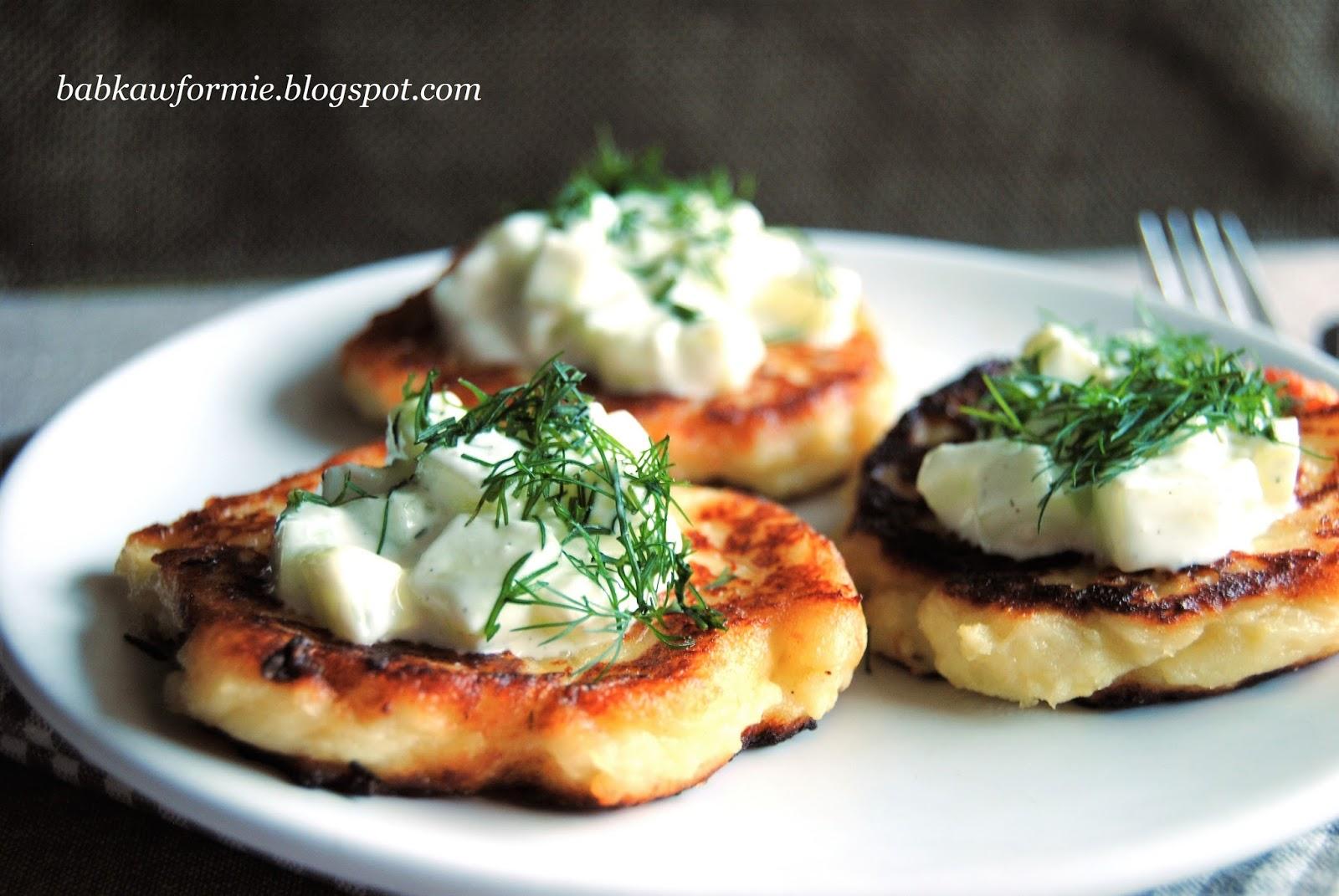 moskole goralskie placki z gotowanych ziemniaków babkawformie.blogspot.com