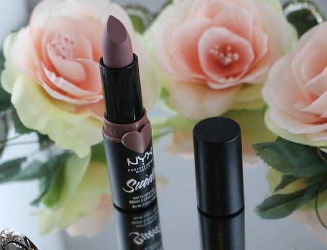 Nyx suede Lavender & lace / Mon Nude parfait !
