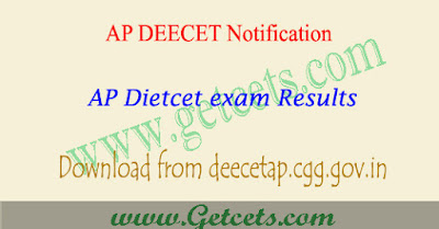 AP DEECET Results 2020-2021 manabadi, dietcet counselling