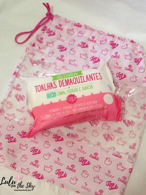 Toalha Demaquilante Dailus x  Neutrogena
