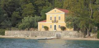 η οικία του Αριστοτέλη Βαλαωρίτη στη νήσο Μαδουρή