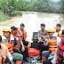 Siaga Banjir BPBD Kab. Tapin bahu membahu bersama SatBrimod POLDA KalSel POLRES Tapin