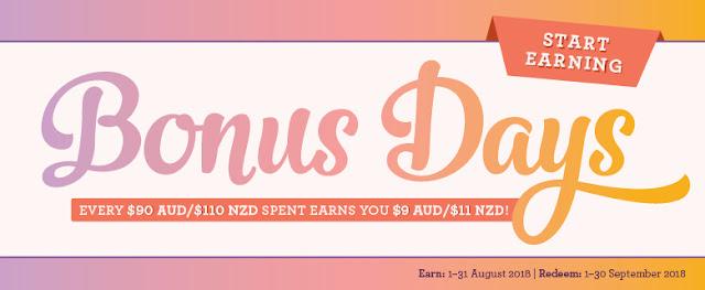 Earn Bonus Days now!