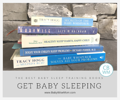 The Best Baby Sleep Training Books to Get Baby Sleeping. Different sleep training methods to get baby to sleep through the night and take great naps.