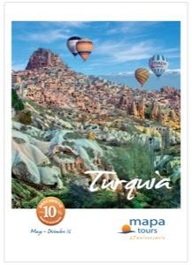 Mapa Tours Turquía 2016