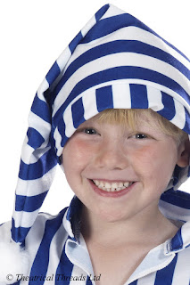 Wee Willie Winkie Nightcap Kids Costume from Theatrical Threads Ltd