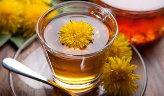 Melangsingkan Tubuh Gemuk Dengan Minum Teh Dandelion Secara Rutin