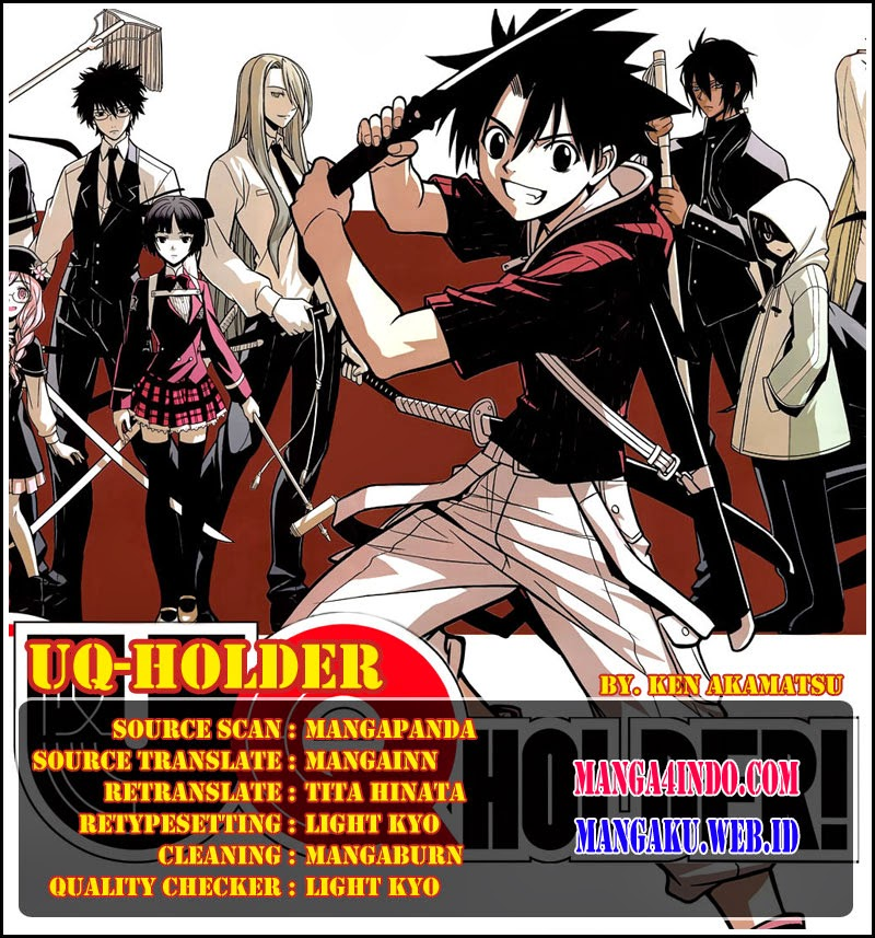 Komik UQ Holder! Chapter 07 Bahasa Indonesia