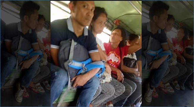 VIDEO: Snatcher's new modus inside jeepney
