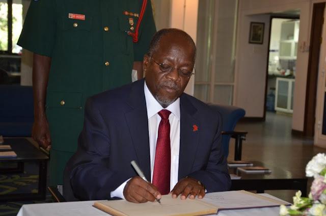 Rais Magufuli Afanya Uteuzi Mwingine Amteua Bw. Alphayo Kidata Kuwa Balozi.