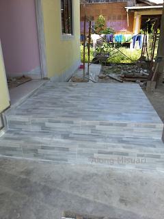 Rumah Idaman : Pemasangan Tiles Siap Sepenuhnya