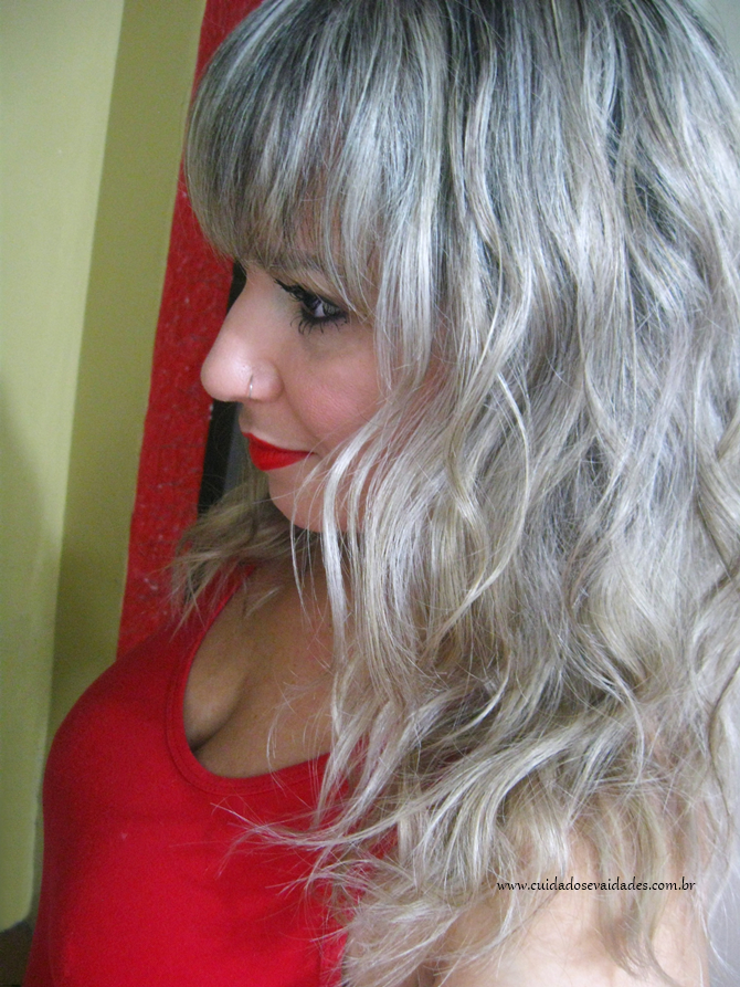 Antes e depois: Magic Color 3D Ice Blond