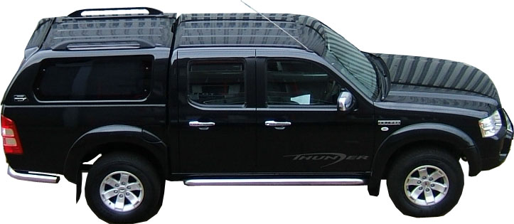 hard top carryboy ford ranger 2007 double cab made in. Black Bedroom Furniture Sets. Home Design Ideas