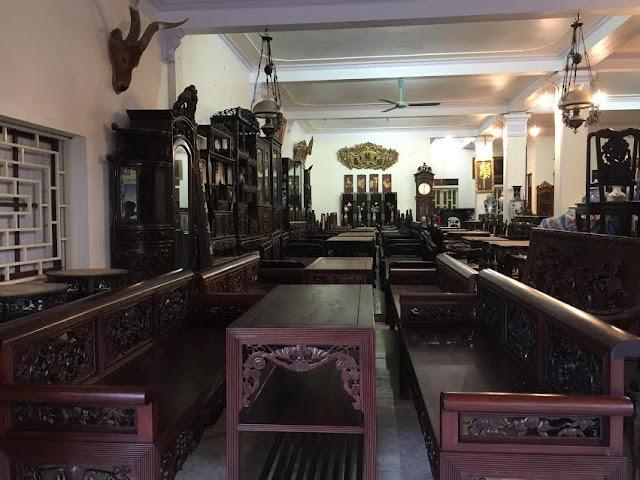 Cửa hàng đồ gỗ Đỗ Tĩnh - Làng nghề 1, Hải Minh, Hải Hậu - Nam Định